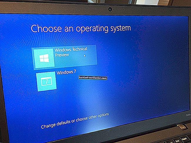 Windows 7 ve Windows 10 Önizleme sürümlerinde ikili önyükleme nasıl yapılır?
