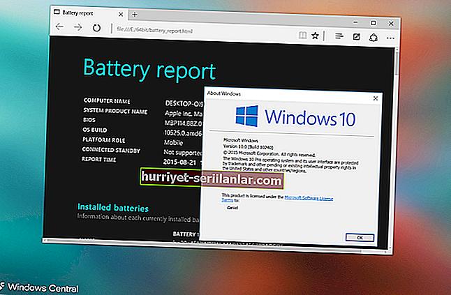 Windows 10'da Bluetooth cihazlarının pil durumunu kontrol etmek için?