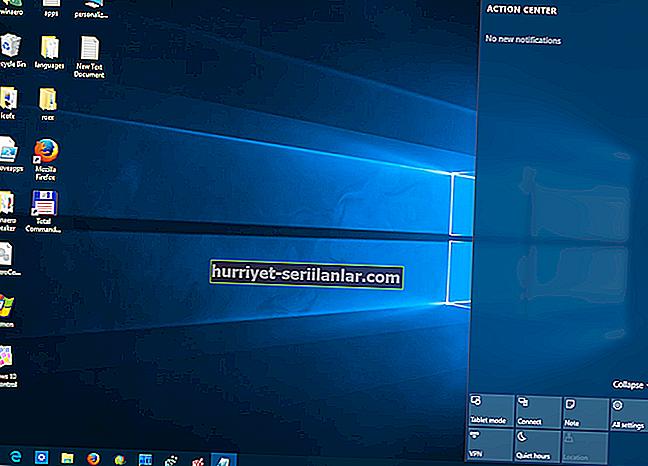Windows 10 Eylem Merkezi'nde yanlış bildirimler nasıl silinir?