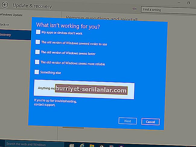 Windows 10'da herhangi bir sürücü nasıl geri alınır?