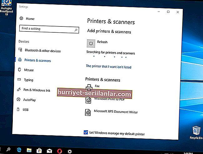 Windows 10 Fall Creators Güncellemesinden sonra yazıcı sorunları
