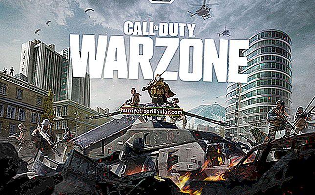 Call of Duty: Warzone'da çökme sorunlarını düzeltme